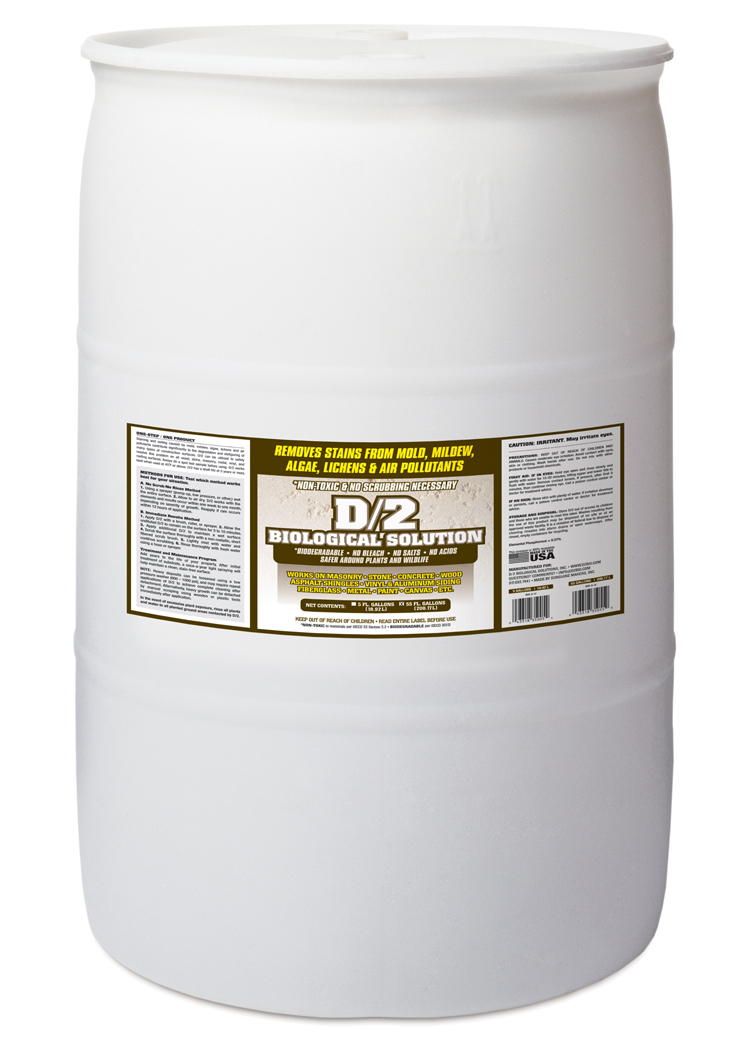 D 2 Biological Solution 55 Gallon Drum Note Call For